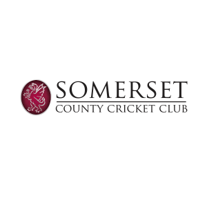 Somerset County Cricket Club's logo with their club's crest